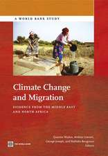 Climate Change and Migration:  Evidence from the Middle East and North Africa