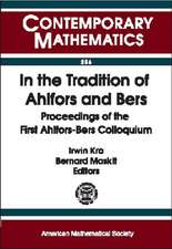 In the Tradition of Ahlfors and Bers