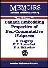 Banach Embedding Properties of Non-commutative L-p Spaces