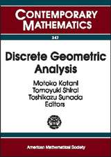 Discrete Geometric Analysis