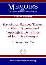 Sakai, M:  Structural Ramsey Theory of Metric Spaces and Top
