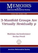 3-Manifold Groups are Virtually Residually P
