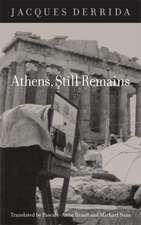 Athens, Still Remains:  The Photographs of Jean-Francois Bonhomme