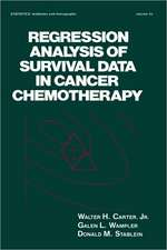 Regression Analysis of Survival Data in Cancer Chemotherapy