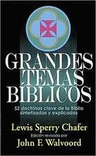 Grandes Temas Biblicos = Major Bible Themes