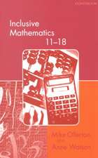 Inclusive Mathematics 11-18