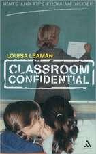Classroom Confidential