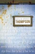 Biblia de referencia Thompson RVR 1960, tamaño personal