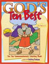 God's Ten Best Coloring Book