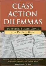 Class Action Dilemmas