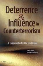 Deterrence and Influnce in Counterterrorism