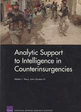 Analytic Support to Intelligence in Counterinsurgencies