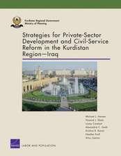 Strategies for Private-Sector Development and Civil-Service Reform in the Kurdistan Region Iraq