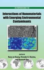 Interactions of Nanomaterials with Emerging Environmental Contaminants