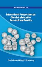 International Perspectives on Chemistry Education Research and Practice