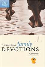The One Year Book of Family Devotions