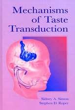 Mechanisms of Taste Transduction