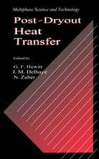 Post-Dryout Heat Transfer