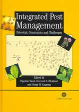 Integrated Pest Management:  Potential, Constraints and Challenges