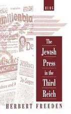 The Jewish Press in the Third Reich