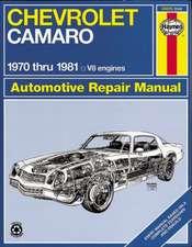 Chevrolet Camero V8 Repair Manual:  1970 Thru 1981