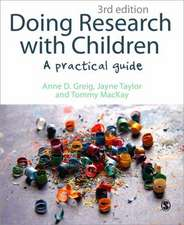 Doing Research with Children: A Practical Guide