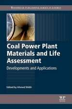 Coal Power Plant Materials and Life Assessment: Developments and Applications