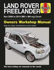 Land Rover Freelander (Nov 06 - 14) Haynes Repair Manual