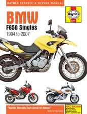 BMW F650 Singles (94 - 07) Haynes Repair Manual