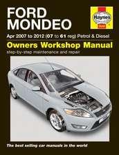 Ford Mondeo Petrol & Diesel (Apr 07 - 12) Haynes Repair Manual