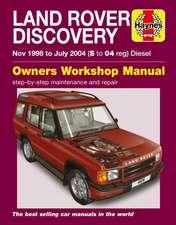 Land Rover Discovery Diesel (Nov 98 - Jul 04) Haynes Repair Manual