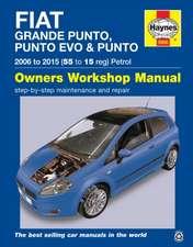 Fiat Grande Punto, Punto Evo and Punto Petrol (06 - 15) Haynes Repair Manual