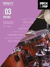 Trinity College London Rock & Pop 2018 Drums Grade 3