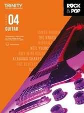 Trinity College London Rock & Pop 2018 Guitar Grade 4 CD Only