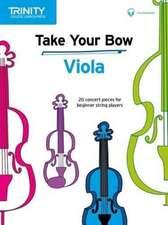 Take Your Bow   Viola