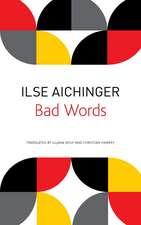 Bad Words: Selected Short Prose