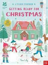 National Trust: Getting Ready for Christmas, A Sticker Storybook