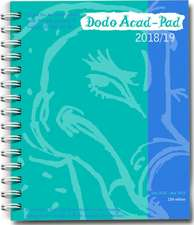 Dodo Mini Acad-Pad 2018-2019 Pocket Mid Year Diary, Academic Year, Week to View