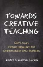 Towards Creative Teaching