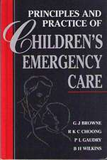 Principles and Practice of Children's Emergency Care