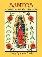 Santos, a Coloring Book of New Mexico Saints