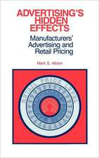 Advertising's Hidden Effects:  Manufacturers' Advertising and Retail Pricing