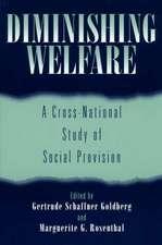 Diminishing Welfare:  A Cross-National Study of Social Provision
