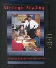 Strategic Reading:  Guiding Students to Lifelong Literacy, 6-12