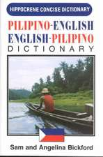 Pilipino-English / English-Pilipino Concise Dictionary
