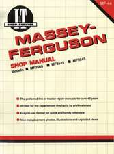 Massey Ferguson Shop Manual Models Mf3505 Mf3525 & Mf3545