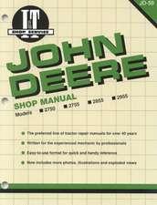 John Deere Shop Manual 2750 2755 2855&2955