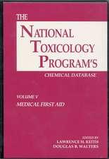 The National Toxicology Program's Chemical Database, Volume V