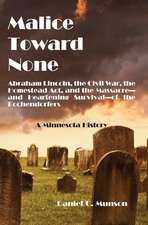 Malice Toward None:  A