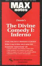 Divine Comedy I:  Inferno, the (Maxnotes Literature Guides)